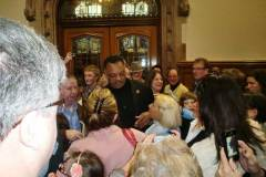 Rev Jesse Jackson visited Derry